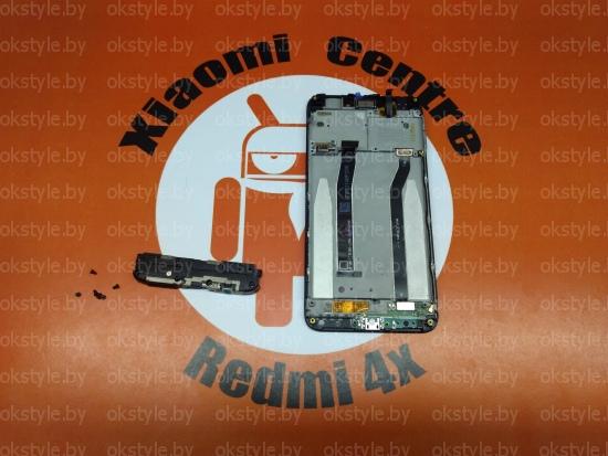 zamena akusticheskoj kamery i dinamika redmi 4x в минске