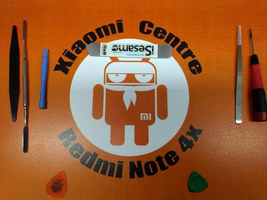 Срочный ремонт задней крышки Redmi 4x