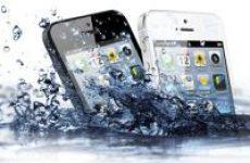 Ремонт iPhone после воды