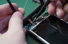 Замена сенсора Samsung