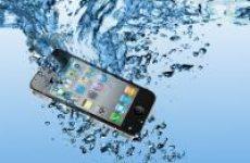 Вопрос по устранению влаги в телефоне от нашего клиента